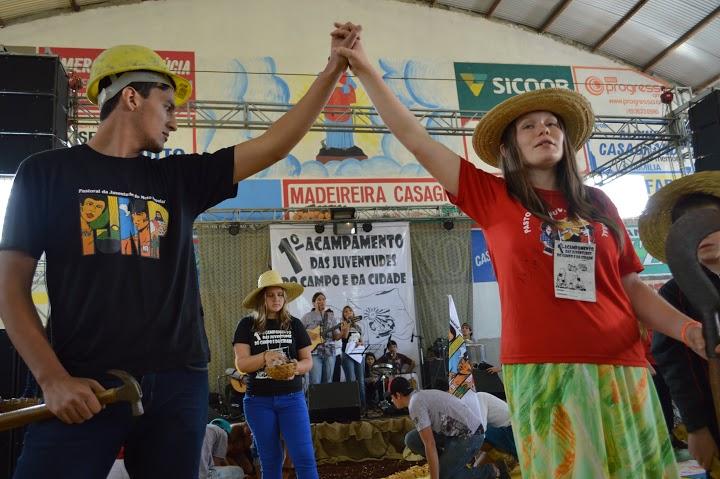 1er Campamiento de las Juventudes del Campo y de la Ciudad