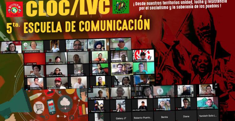🗣ARRANCA LA V ESCUELA CONTINENTAL COMUNICACION DE LA CLOC-VC EN SU PRIMERA FASE: MODALIDAD VIRTUAL.!!