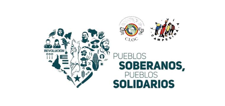 Se lanzó la campaña Pueblos Soberanos, Pueblos Solidarios