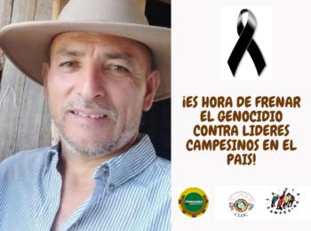Denuncia ante la comunidad Nacional e Internacional sobre la torura, homicidio y desaparición forzada del compañero Omar Moreno Ibague