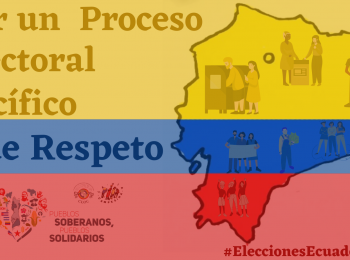 CLOC-LVC llama a garantizar el respeto a la voluntad del pueblo en el proceso de renovación democrática del Ecuador.